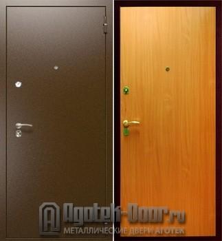 железная дверь антивандальный ламинат