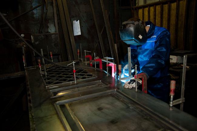 Изготовление дверей металлических своими руками