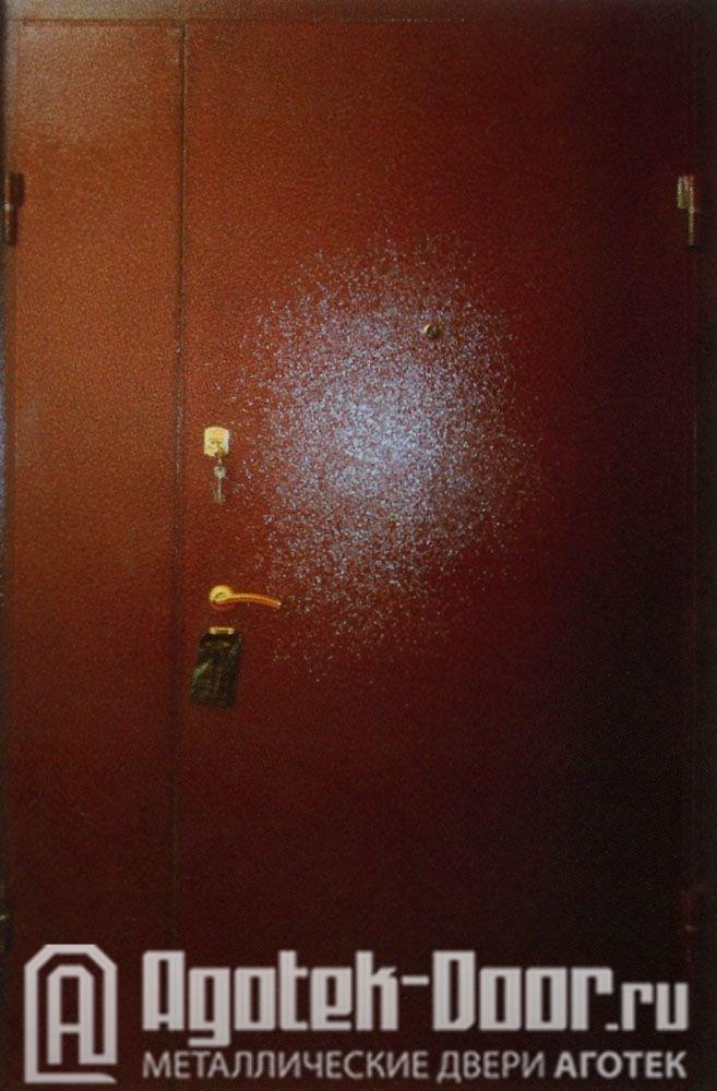 замер на стальные двери
