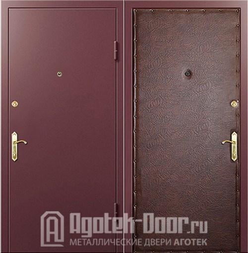 двери металлические противопожарные ламинированные